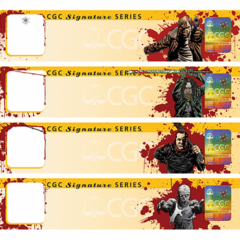 New Walking Dead CGC Labels To Debut At C2E2