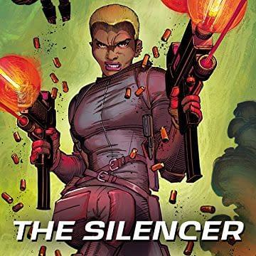 The Silencer #1 cover by John Romita Jr. and Sandra Hope