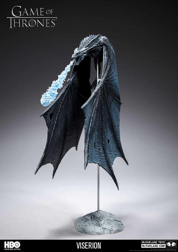 McFarlane Toys Game of Thrones Viserion 2