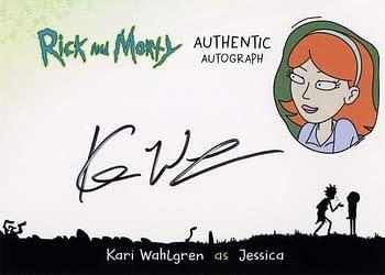 Rick and Morty Season 1 Trading Cards Auto 6
