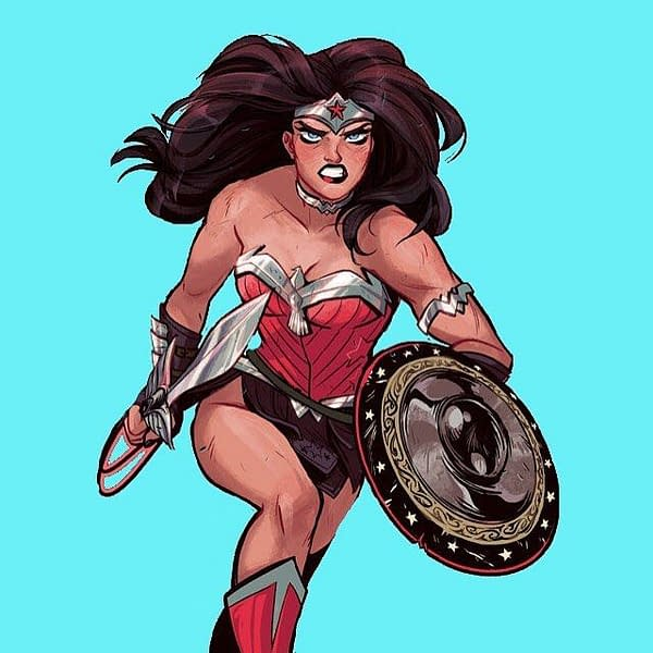 Wonder Woman by Babs Tarr