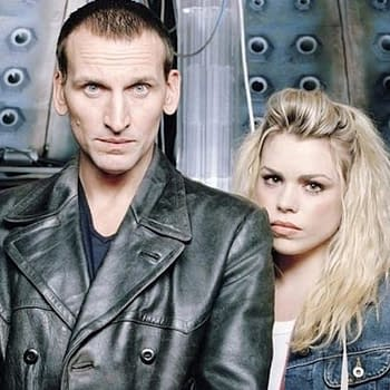 "Christopher Eccleston as the 9th Doctor in ""Doctor Who"", BBC Studios"