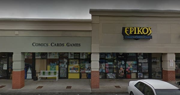 Epikos Comics, Cards, & Games Closed Hixson, Tennessee Store, Yesterday