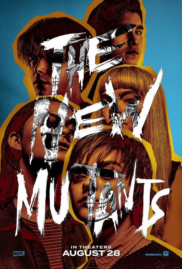 The new poster for The New Mutants. Credit: 20th Century Studios.