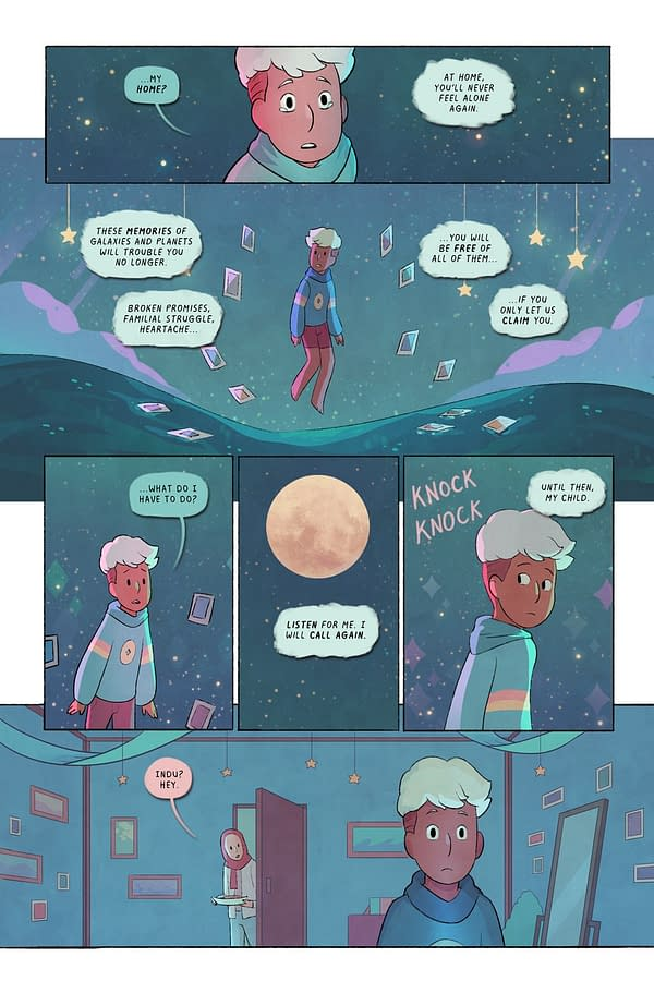 Lunar Boy Graphic Novel