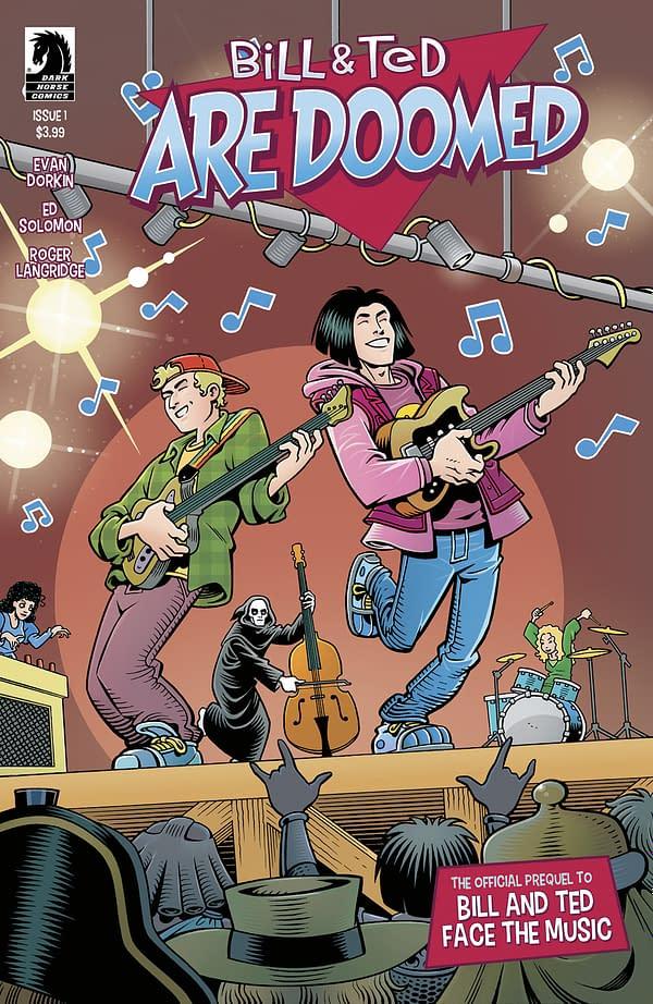 Evan Dorkin and Roger Langridge Bring Bill & Ted Back to Comics