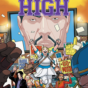 Valiant High #1 cover by David LaFuente and Brian Reber