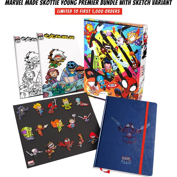 Marvel Made Launches With San Diego Comic-Con Skottie Young Pins