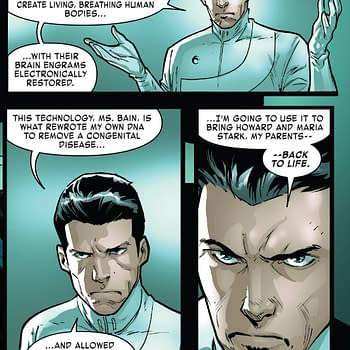 Tony Stark: Iron Man is Going Full HOXPOX