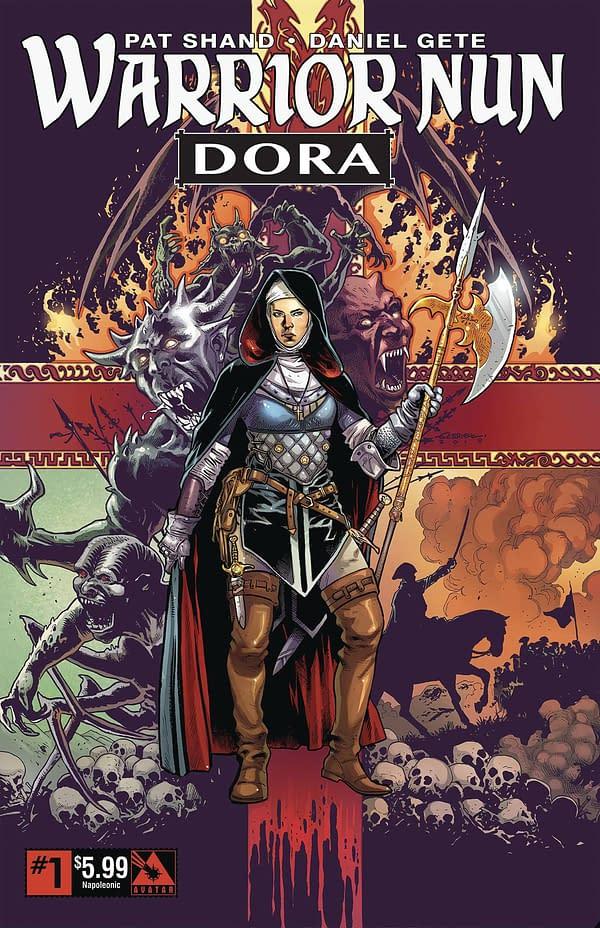 Avatar Press Relaunches Warrior Nun Ahead Of Netflix TV Show