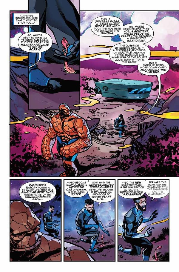 Reed Richards, What a Dick in Marvel 2-In-One #11