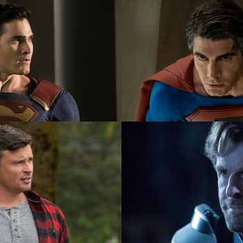 """""""Crisis on Infinite Earths, Part 2"""" Brings Paragons, Lex Luthor, and Hot Superman on Superman Action"""
