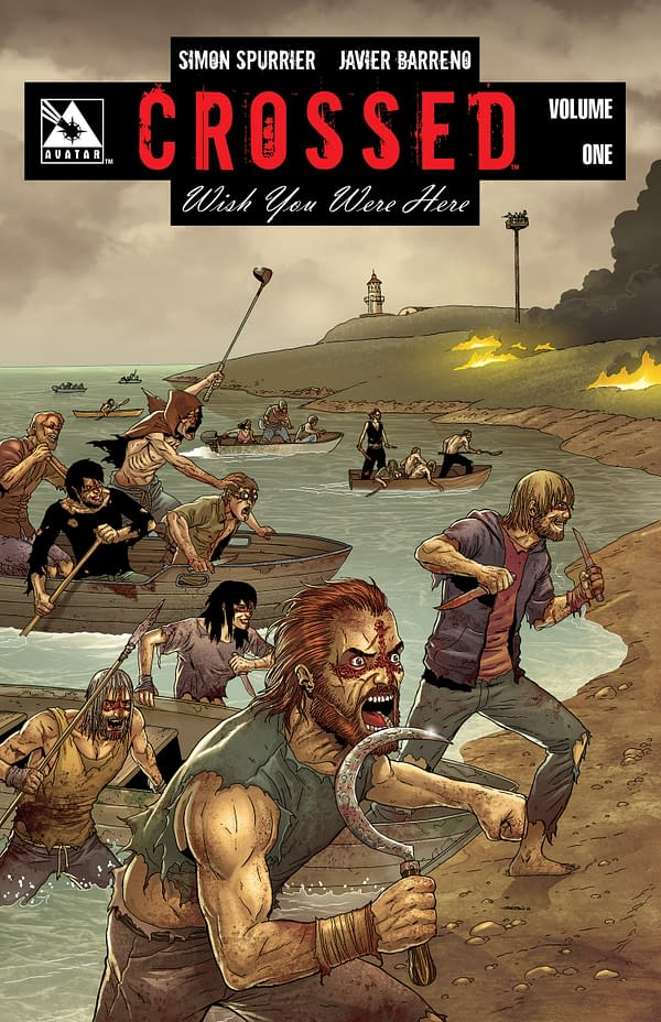 Avatar Plug of the Week – Crossed: Wish You Were Here Graphic Novel