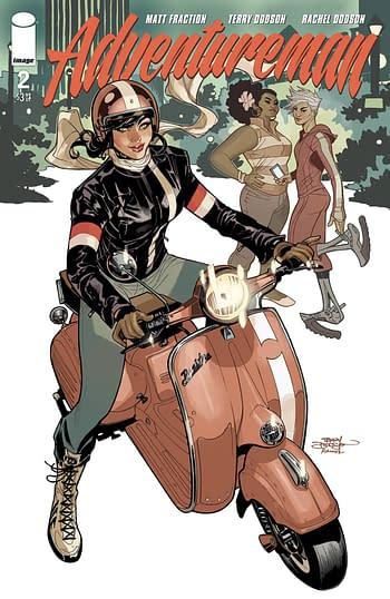 Adventureman #2 Main Cover