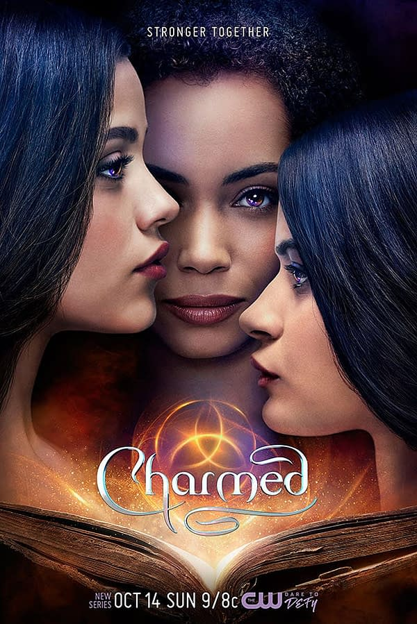 """The Vera Sisters are """"Stronger Together"""" in New 'Charmed' Poster"""
