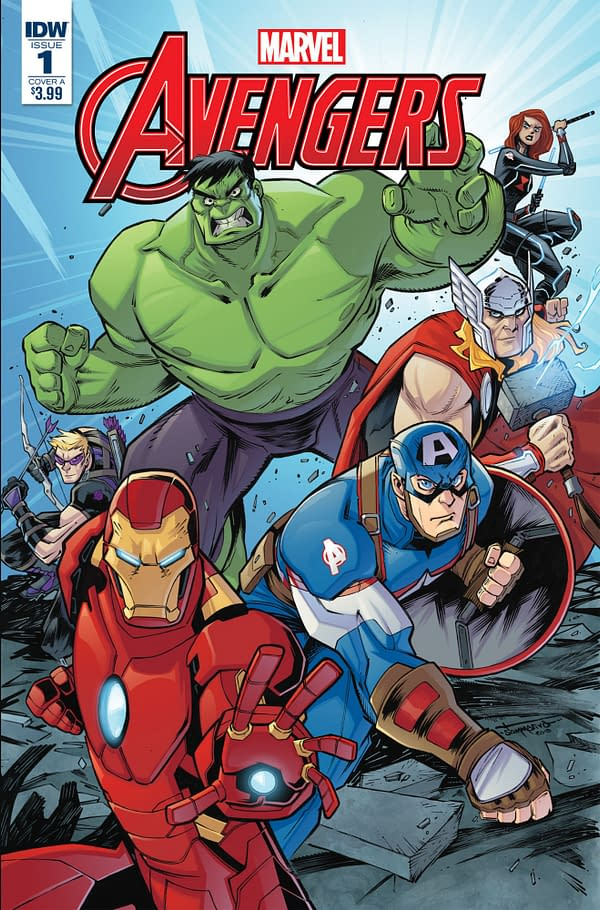 A New Avengers #1 in IDW Full December 2018 Solicitations