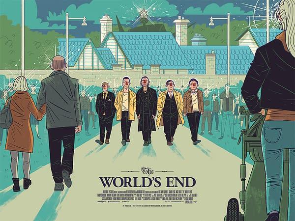 The World's End Mondo Poster