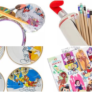 Disney's Ink & Paint line should be your new must haves!