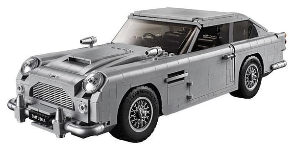 LEGO Creator James Bond Aston Martin 4