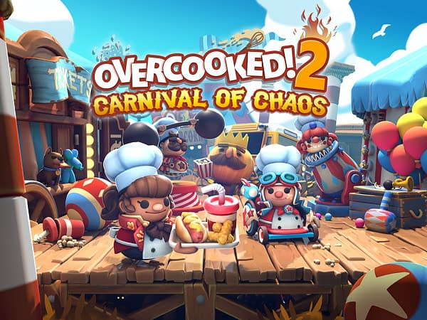 """The """"Overcooked! 2"""" Carnival Of Chaos DLC Launches Today"""