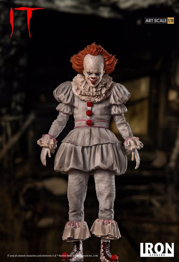 Pennywise Iron Studios Regualr Edition 1
