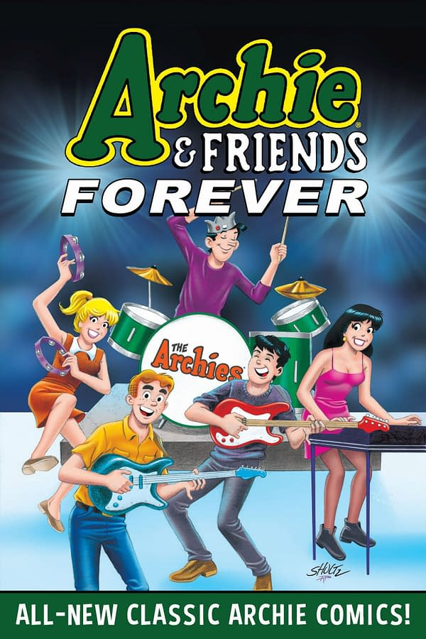 The cover of Archie & Friends: Forever Trade Paperback.
