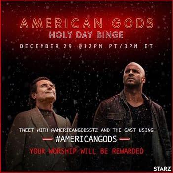 American Gods: Starz Releases Season 1 Live-Tweet Holy Day Binge Schedule