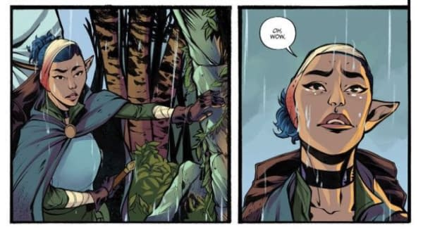 Kurtis Wiebe and Justin Osterling Launch New Fantasy Series Dryad at Oni in March