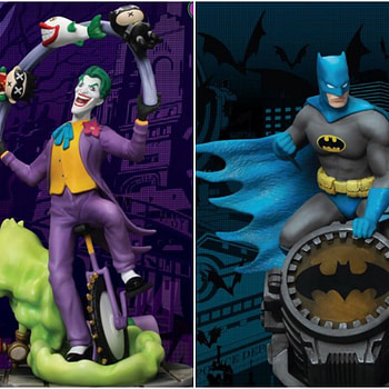 Beast Kingdom Gives Us Batman and Joker Statues