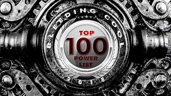 The Bleeding Cool Top 100 Power List 2018 Countdown: #55-51