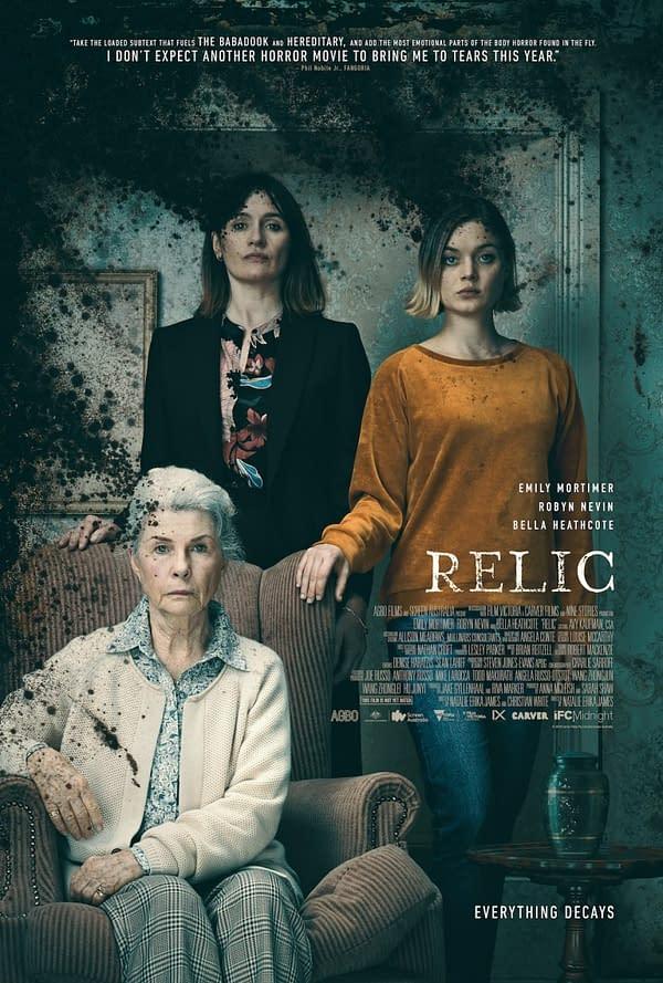 Relic Trailer en fait le film d'horreur le plus attendu de l'été