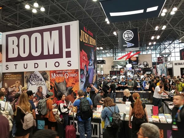 First Look at Boom Studios' New York Comic Con Booth #NYCC