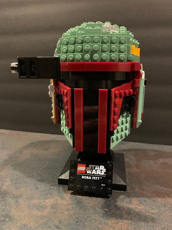 Collection de casques LEGO Star Wars 8