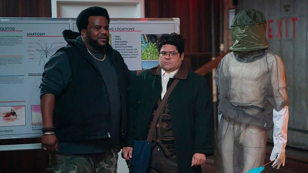 Guillermo discovers other vampire hunters on What We Do in the Shadows, courtesy of FX Networks.