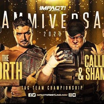 The North Defends Against Shamrock &#038 Callihan: Impact Slammiversary