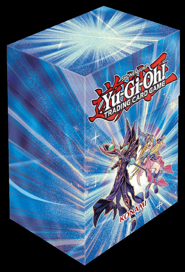 Yu-Gi-Oh! Porte-cartes Dark Magician, gracieuseté de Konami.