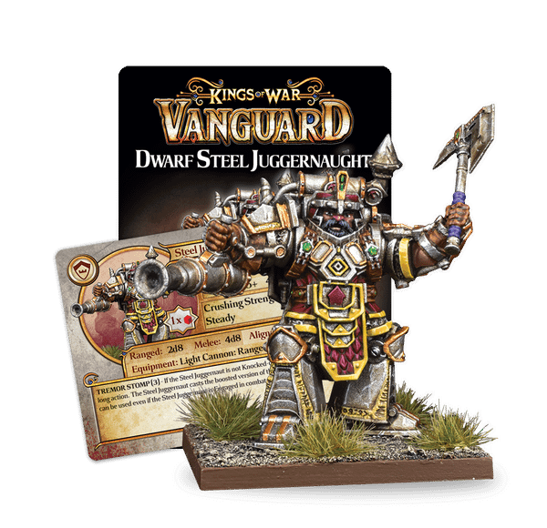 Kings of War: Vanguard Charges into the New Year with New Dwarf Faction