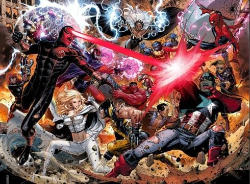 Marvel Announce Avengers Vs. X-Men In April