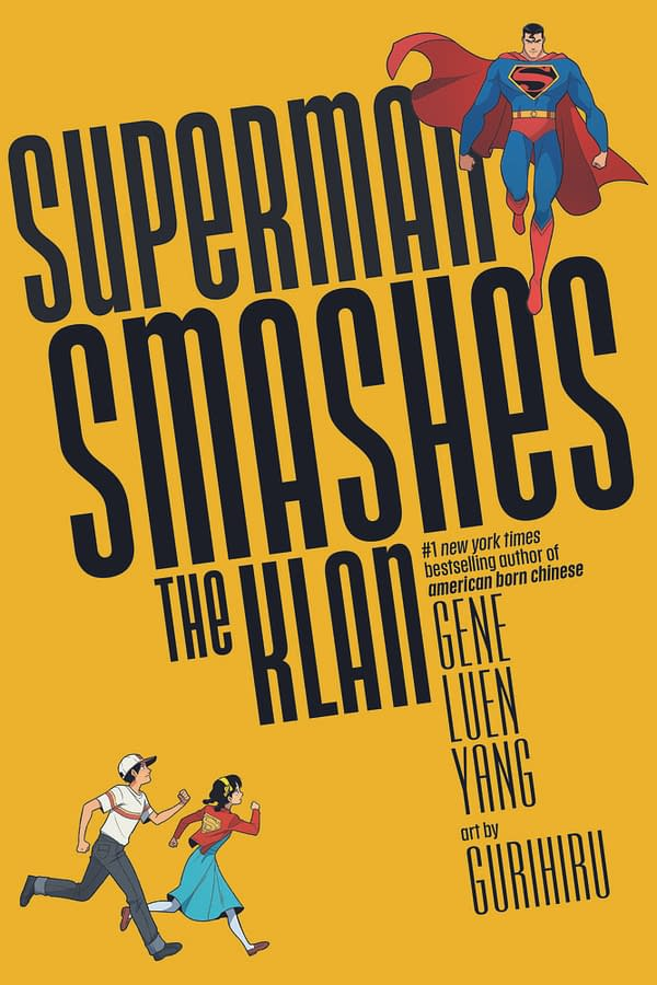 Superman Smashes the Klan cover from DC Comics.
