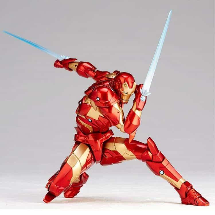 Revoltech Iron Man Figure 3