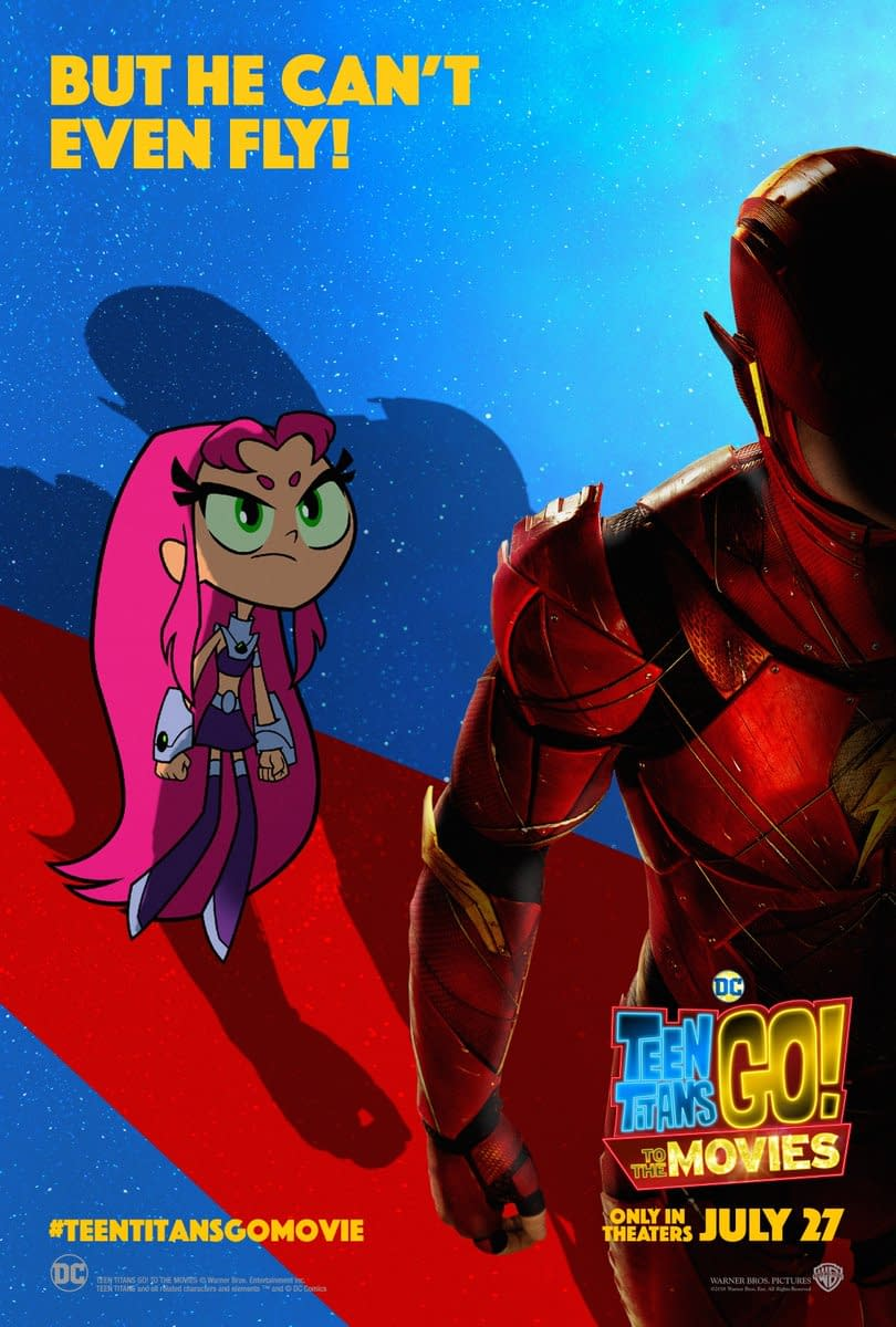 5 New Posters for Teen Titans Go! to the Movies Plus a New Trailer Tomorrow