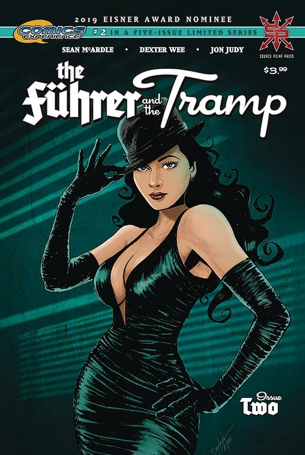 The Fuhrer & The Tramp #2 Main Cover