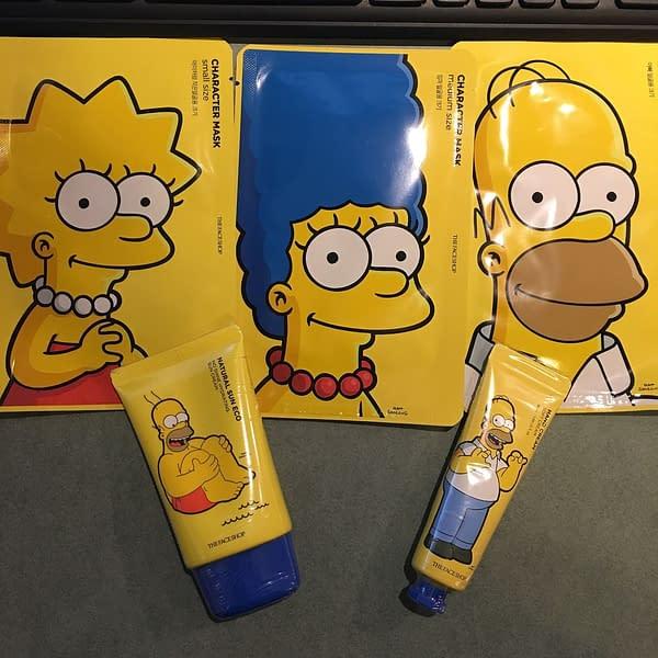 simpsons the face shop