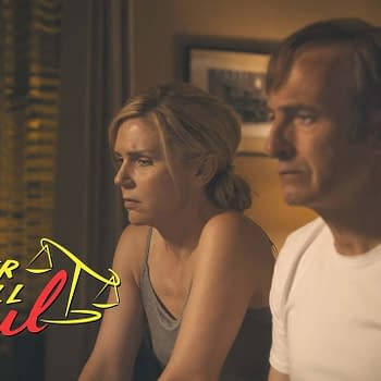 Jimmy and Kim consider their future on Better Call Saul, courtesy of AMC Studios.