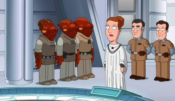 Family Guy's Carrie Fisher Eulogy Will Break Your Heart