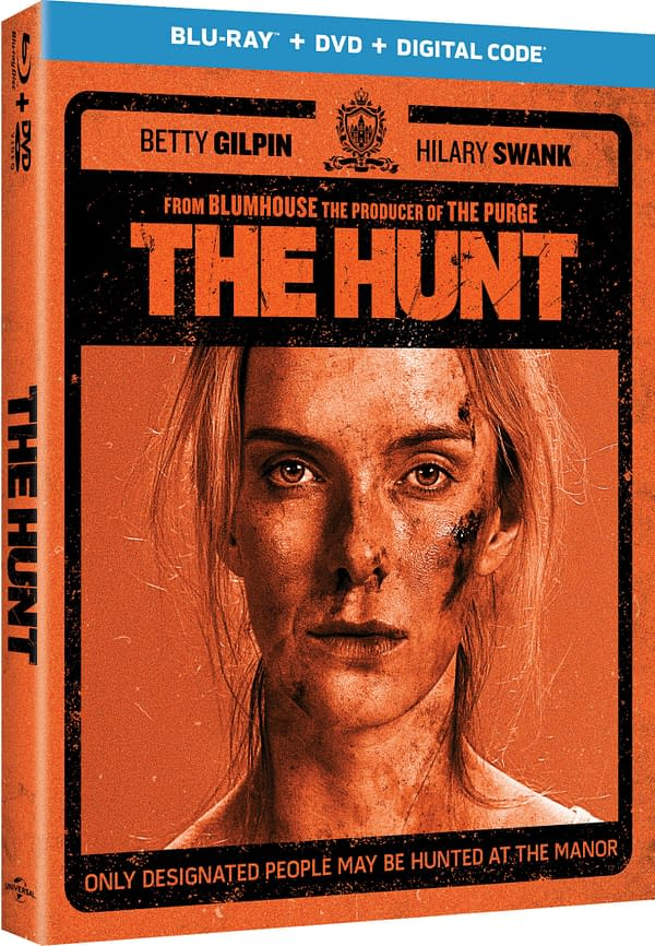 You could win a copy of The Hunt on Blu-ray, courtesy of Universal Pictures Home Entertainment.