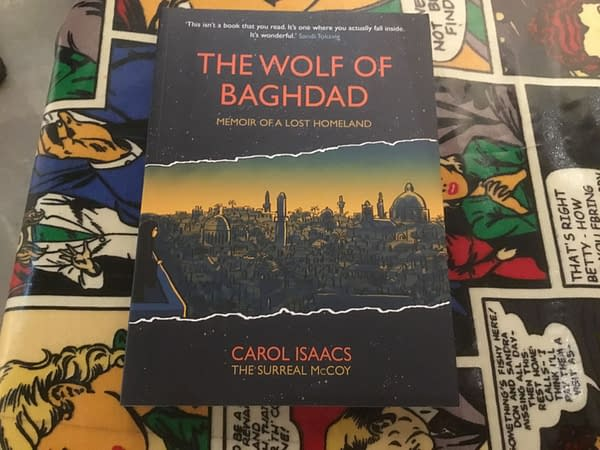 Carol Isaacs' The Wolf Of Baghdad Launched at London's Cartoon Museum (VIDEO)