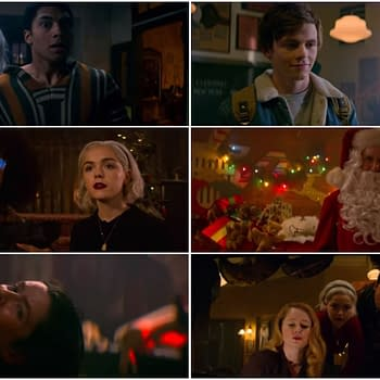 Chilling Adventures of Sabrina: A Midwinters Tale &#8211 Seances Evil Santas and Spells (TRAILER)