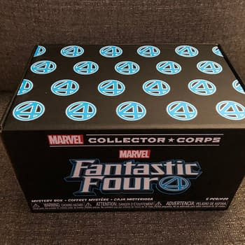 Fantastic Four Funko Marvel Collector Corp Unboxing