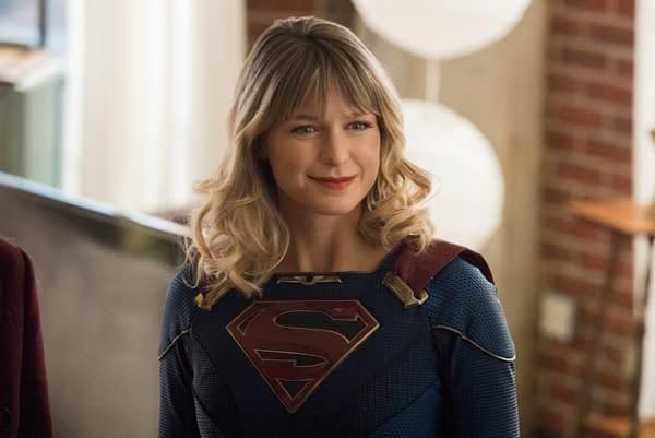 Melissa Benoist as Kara/Supergirl on Supergirl, courtesy of The CW.